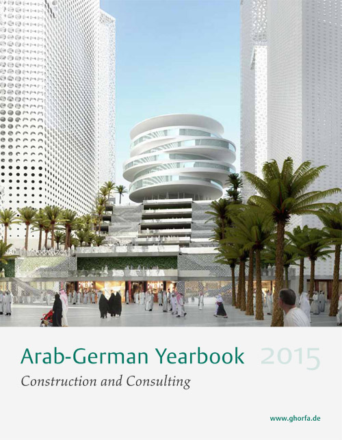 "Lindemann Group - Ghorfa Arab-German Yearbook ""Construction & Consulting"" 2015"