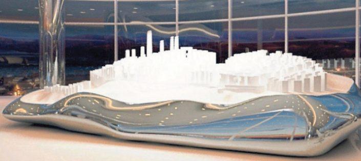 Architekt fordert Staedtebau mit Visionen